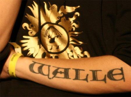 wall-e tatoo